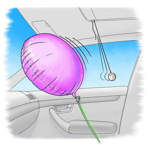 Buoyant Balloon: Float Forward with Fluid Physics