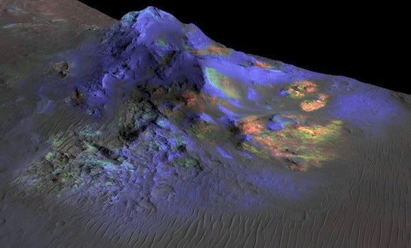Exotic Glass Could Help Unravel Mysteries of Mars