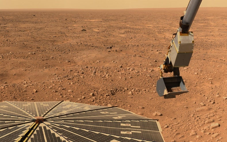 Life on surface of Mars not likely to exist
