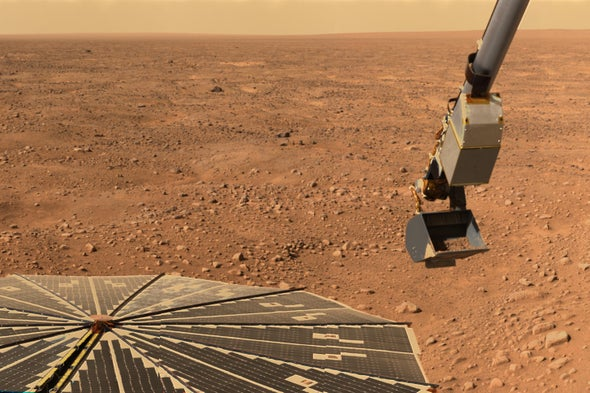 Toxic Compounds May Sterilize Martian Soil
