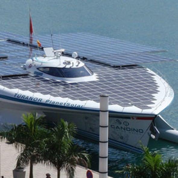 Sunlight Fuels Historic Sea-Crossing, Next Solar Effort Transcontinental Flight