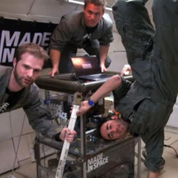 NASA Looks to 3-D Printing for Spare Parts for Space Station