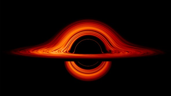 Black Holes, Volcanic Scrolls and a Teeny, Tiny Heartbeat: Science GIFs to Start Your Week
