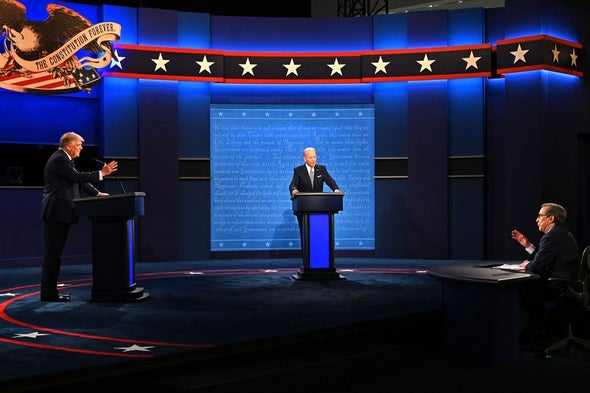 Climate Change Receives Unexpected Attention at First Presidential Debate