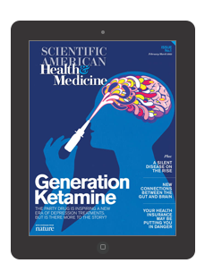 20% off Scientific American Health & Medicine