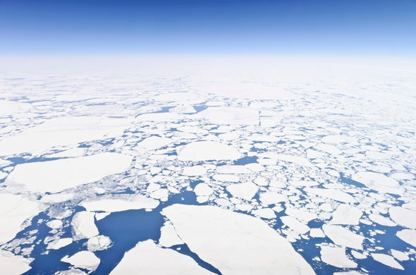Arctic Sea Ice Hits New January Low