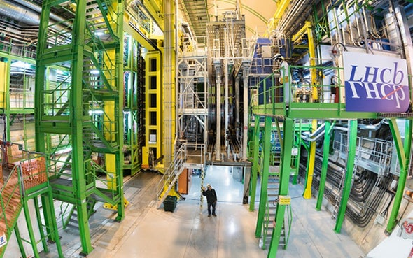 Physicists Excited by Latest LHC Anomaly