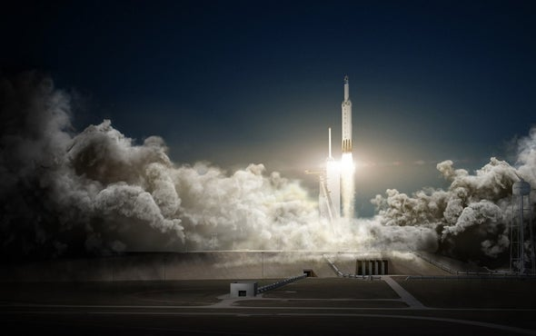 Could SpaceX Get People to the Moon in 2018?