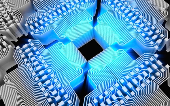 In a First, Quantum Computer Simulates High-Energy Physics