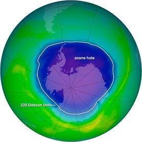 Ozone Hole May Have Caused Australian Floods
