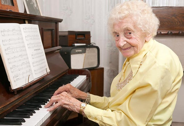 Even Centenarians Are Living Longer