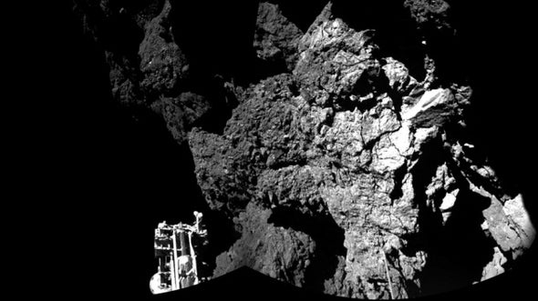 Comet-Lander Philae Wakes Up and Phones Home