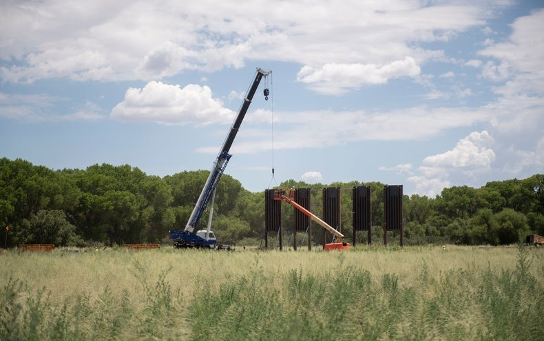 Some Ecological Damage From Trump's Rushed Border Wall Could Be Repaired - Scientific American