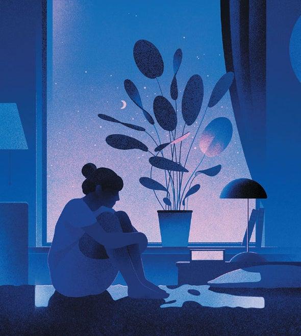 Fighting Depression by Staying Awake