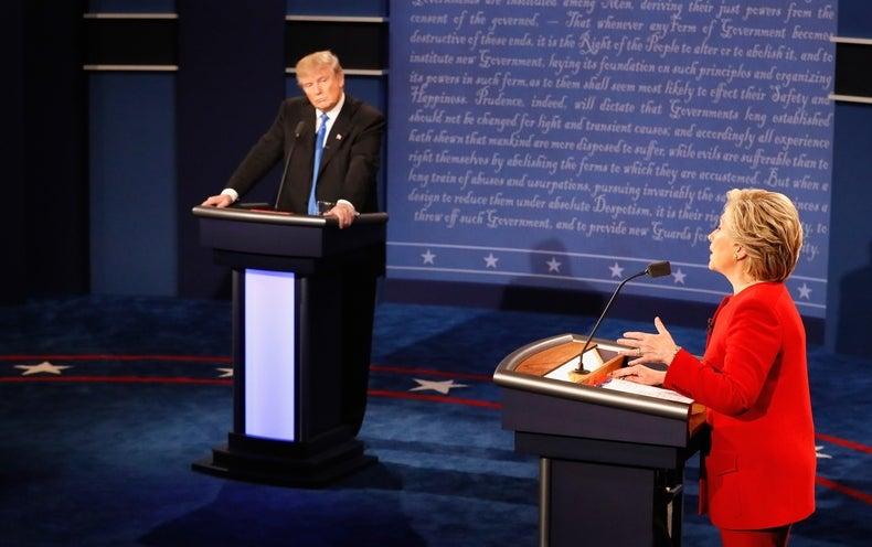 Trump, Clinton Argue over Climate Change