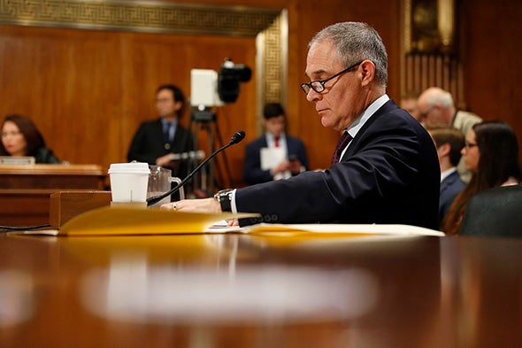 Trump May Start Reshaping the EPA Soon