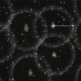 New Cosmic Distance Measurement Points the Way to Elusive Dark Energy
