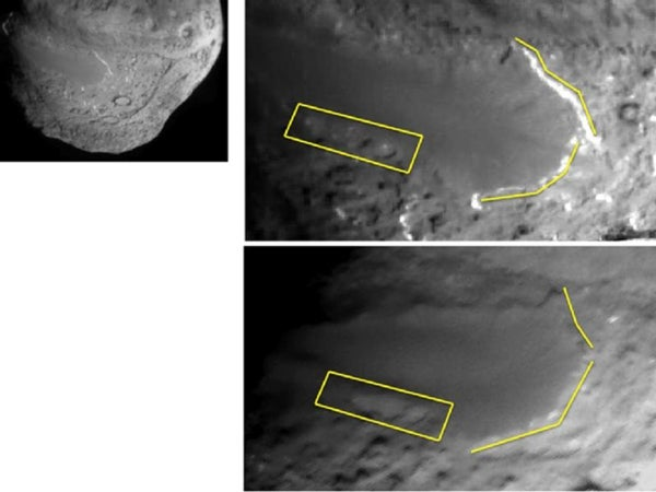 Stardust-NExT images of Comet Tempel 1 reveal significant erosion