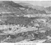 The San Pablo section of the Panama Canal, 1888: