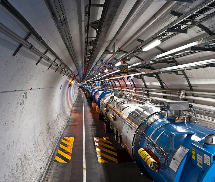 China Plans Supercollider