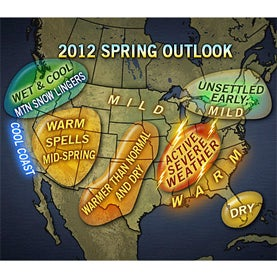 Unusual Warmth Expected to Fuel Extreme Weather in the U.S.