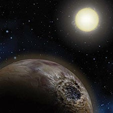 Earth-Like Planets May Be Made of Carbon