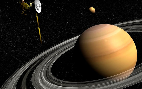 Saturn's Blingy Rings Are a Recent Upgrade