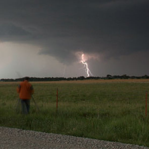tornado warning times may get longer by pinpointing lightning