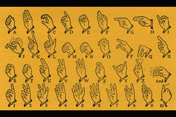 Sign Languages Display Distinct Ancestries