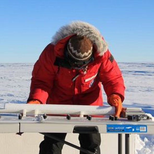 Ice Core Data Help Solve a Global Warming Mystery