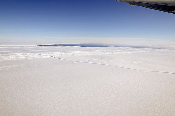 Antarctic Glacier Thinned as Rapidly in the Past
