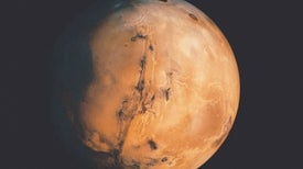 Giant Tsunami Remnants Spotted on Mars