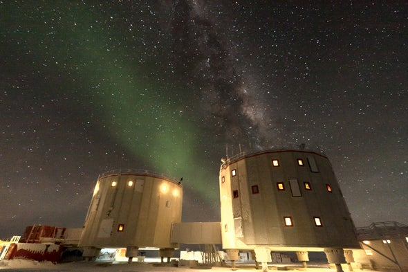 Antarctic Study Shows How Much Space Dust Hits Earth Every Year