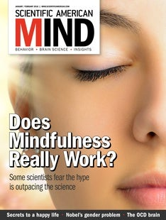 Scientific American Mind, Volume 29, Issue 1