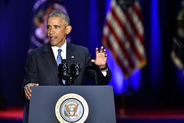 In Final Address, Obama Urges U.S. to Deal with Climate Change