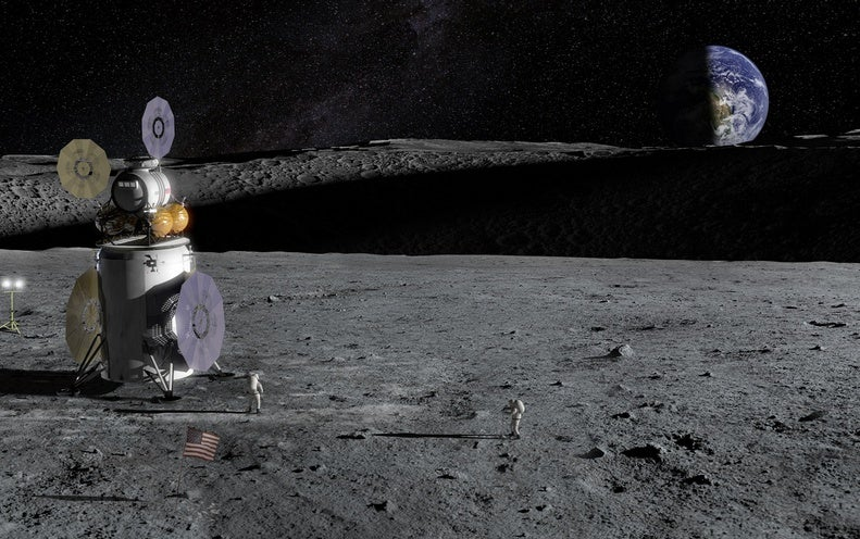 Water Found in Sunlight and Shadow on the Moon - Scientific American
