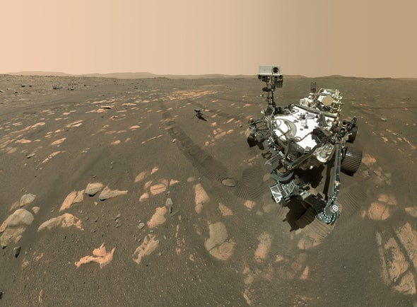 NASA's Perseverance Rover Makes Oxygen on Mars for First Time