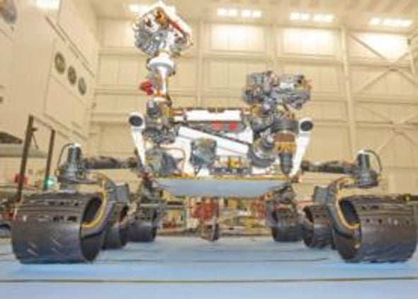 NASA's Mars Rover Curiosity Had Planetary Protection Slipup