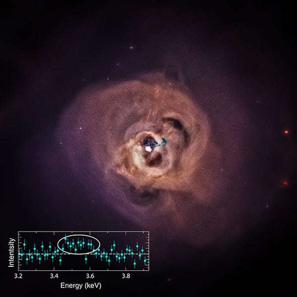 Weird X-Rays Spur Speculation about Dark Matter Detection