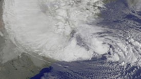 Extremely Dangerous Hurricane Aims at New York City and Mid-East Coast Areas