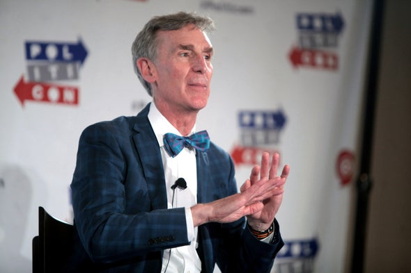 Science Guy Bill Nye Says Climate Adversaries Can Unite around Innovation