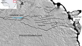 The World's Grandest Canyon May Be Hidden beneath Antarctica