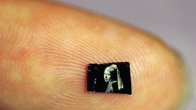 Tiny Paintings Draw Color from Microscopic Cracks