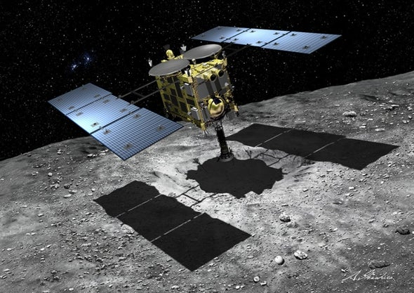 Japan's Next Asteroid Sample-Return Probe Delayed