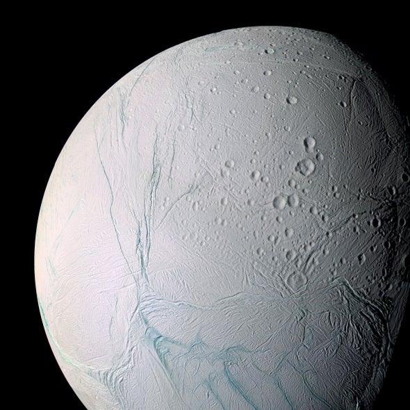 Liquid Ocean Sloshes under Saturn Moon's Icy Crust, Cassini Evidence Shows