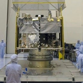NASA's Next Mars Probe Arrives at Launch Site