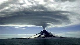 Volcanoes Cooled Earth in the Past, Constrain Warming from Excess CO<sub>2</sub>