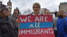 Scientists Find a Voice at Massive Rally for Immigrants