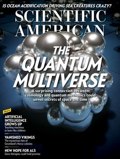 Scientific American Volume 316, Issue 6
