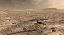 NASA Will Send a Helicopter to Mars in 2020